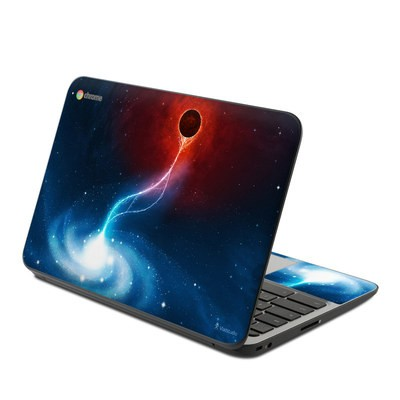 HP Chromebook 11 G4 Skin - Black Hole