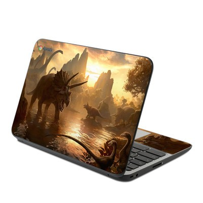 HP Chromebook 11 G4 Skin - Cretaceous Sunset