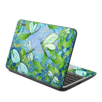 HP Chromebook 11 G4 Skin - Dragonfly Fantasy
