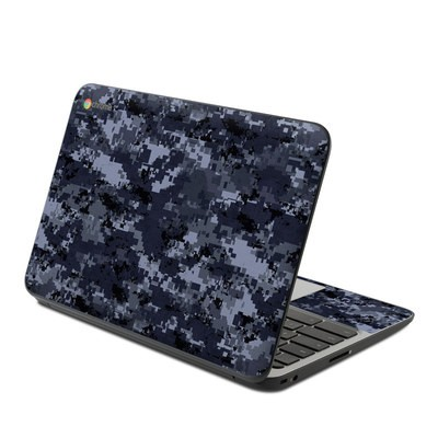 HP Chromebook 11 G4 Skin - Digital Navy Camo