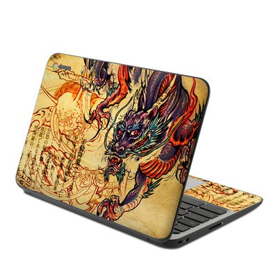 HP Chromebook 11 G4 Skin - Dragon Legend