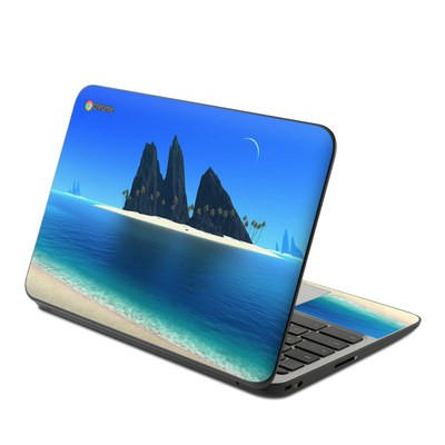 HP Chromebook 11 G4 Skin - Endless Blue