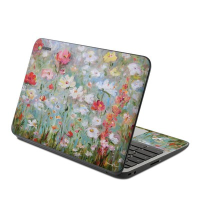 HP Chromebook 11 G4 Skin - Flower Blooms