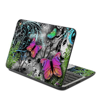 HP Chromebook 11 G4 Skin - Goth Forest
