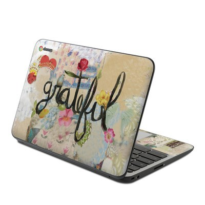 HP Chromebook 11 G4 Skin - Grateful