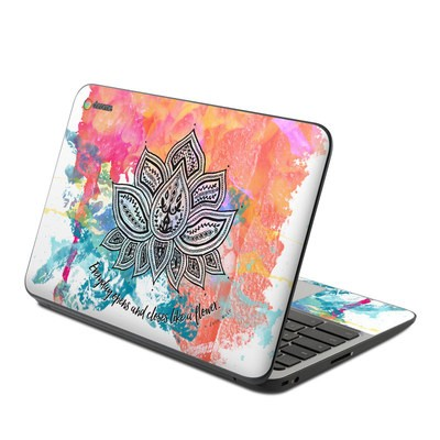 HP Chromebook 11 G4 Skin - Happy Lotus
