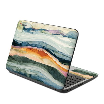 HP Chromebook 11 G4 Skin - Layered Earth