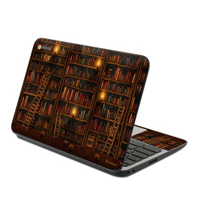 HP Chromebook 11 G4 Skin - Library