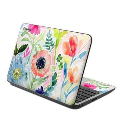 HP Chromebook 11 G4 Skin - Loose Flowers