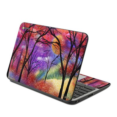 HP Chromebook 11 G4 Skin - Moon Meadow