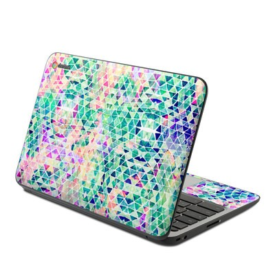 HP Chromebook 11 G4 Skin - Pastel Triangle