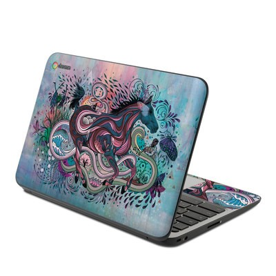 HP Chromebook 11 G4 Skin - Poetry in Motion