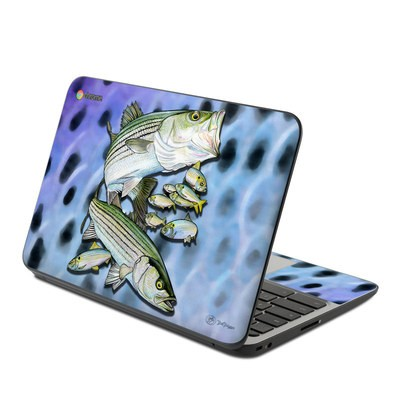 HP Chromebook 11 G4 Skin - Striped Bass