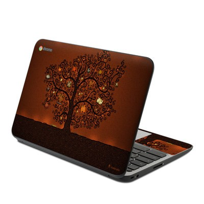 HP Chromebook 11 G4 Skin - Tree Of Books