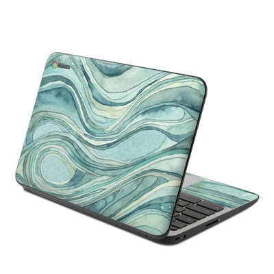 HP Chromebook 11 G4 Skin - Waves