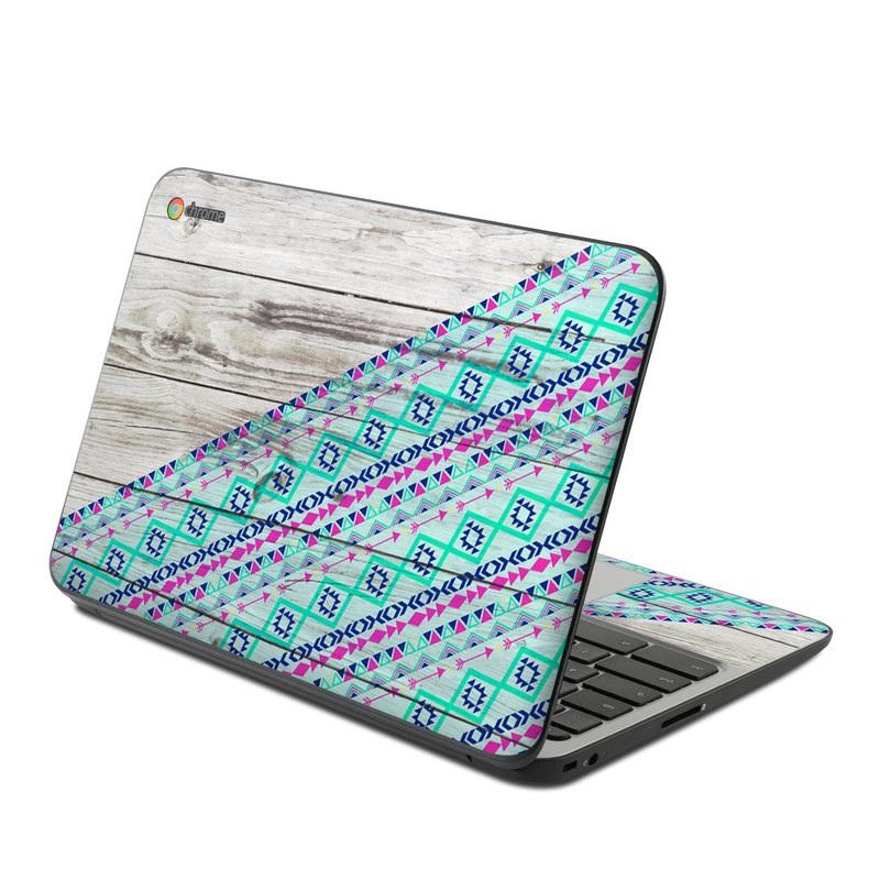 Hp Chromebook 11 G4 Skin Traveler By Brooke Boothe