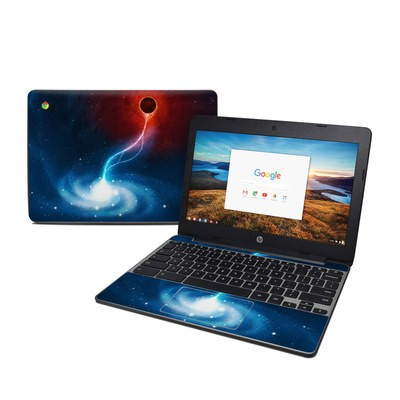 HP Chromebook 11 G5 Skin - Black Hole