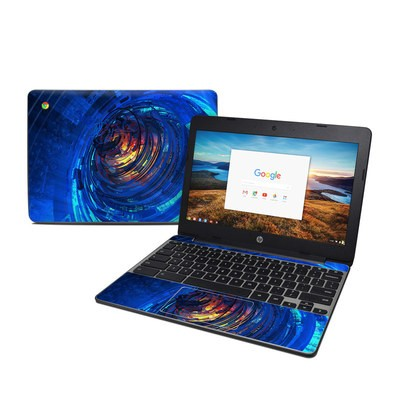 HP Chromebook 11 G5 Skin - Clockwork
