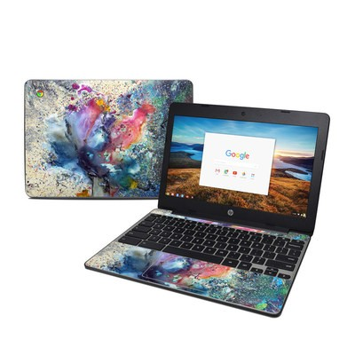 HP Chromebook 11 G5 Skin - Cosmic Flower