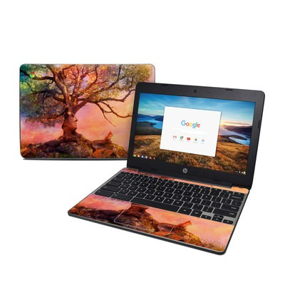 HP Chromebook 11 G5 Skin - Fox Sunset