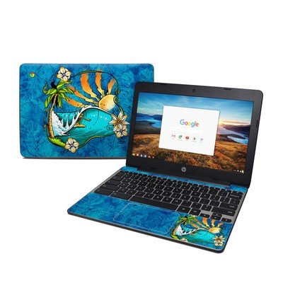 HP Chromebook 11 G5 Skin - Island Playground