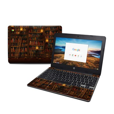 HP Chromebook 11 G5 Skin - Library