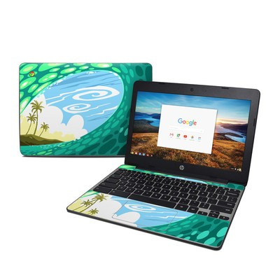 HP Chromebook 11 G5 Skin - Lunch Break