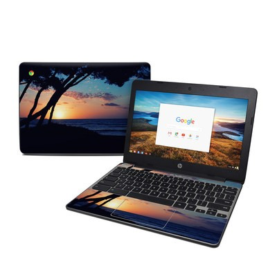 HP Chromebook 11 G5 Skin - Mallorca Sunrise
