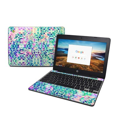 HP Chromebook 11 G5 Skin - Pastel Triangle