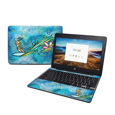 HP Chromebook 11 G5 Skin - Soul Flow