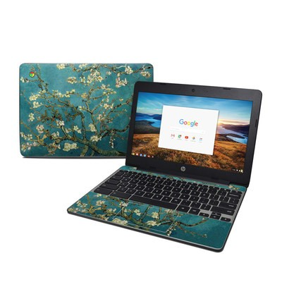 HP Chromebook 11 G5 Skin - Blossoming Almond Tree