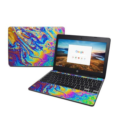 HP Chromebook 11 G5 Skin - World of Soap