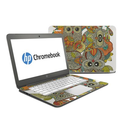 HP Chromebook 14 Skin - 4 owls