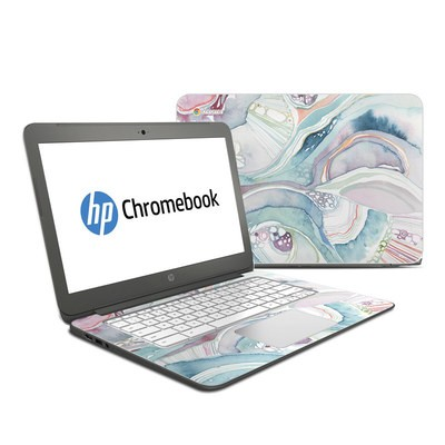 HP Chromebook 14 Skin - Abstract Organic