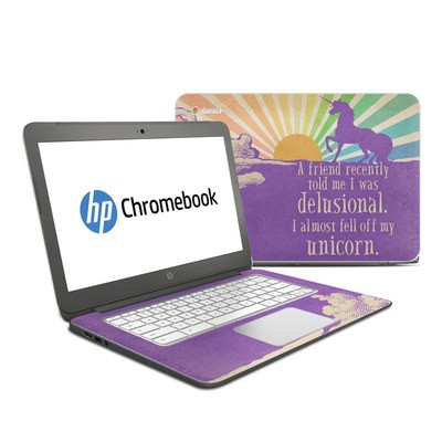 HP Chromebook 14 Skin - A Friend Recently