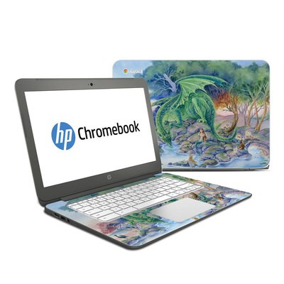 HP Chromebook 14 Skin - Of Air And Sea