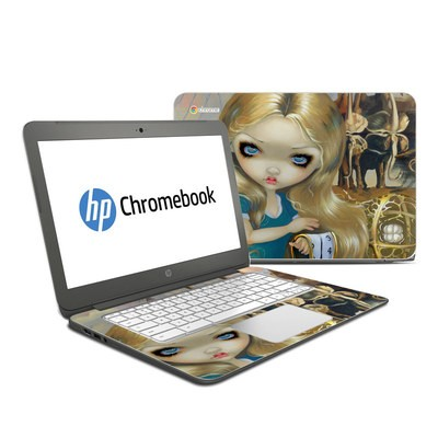 HP Chromebook 14 Skin - Alice in a Dali Dream