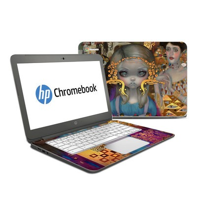 HP Chromebook 14 G4 Skin - Alice in a Klimt Dream