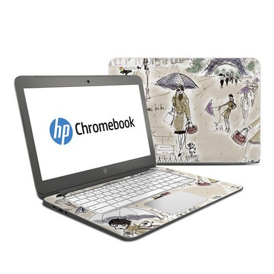 HP Chromebook 14 G4 Skin - Ah Paris