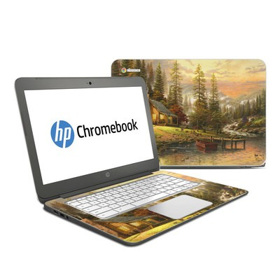 HP Chromebook 14 Skin - A Peaceful Retreat