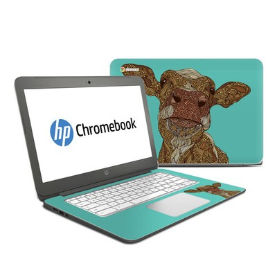 HP Chromebook 14 Skin - Arabella