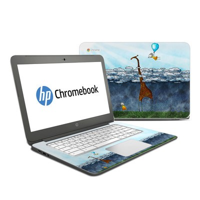 HP Chromebook 14 G4 Skin - Above The Clouds