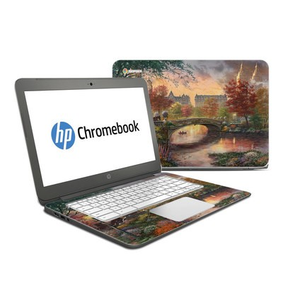 HP Chromebook 14 G4 Skin - Autumn in New York