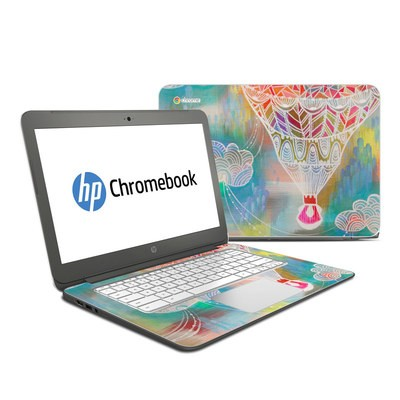HP Chromebook 14 G4 Skin - Balloon Ride