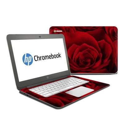 HP Chromebook 14 Skin - Pink Burst   DecalGirl