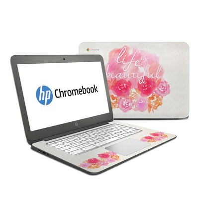 HP Chromebook 14 Skin - Beautiful
