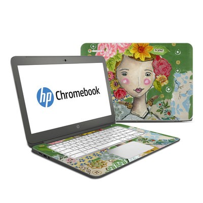 HP Chromebook 14 Skin - Be Glad