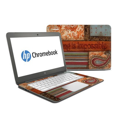 HP Chromebook 14 Skin - Be Inspired