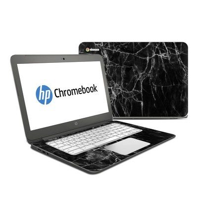 HP Chromebook 14 Skin - Black Marble