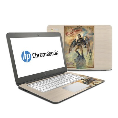 HP Chromebook 14 Skin - The Black Baron